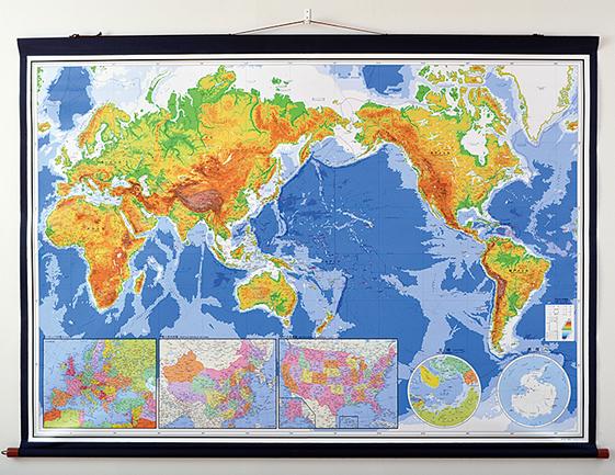 最新世界詳密大地図
